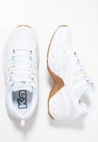 Kappa - OVERTON - Sportovní boty - white/multicolor - 1