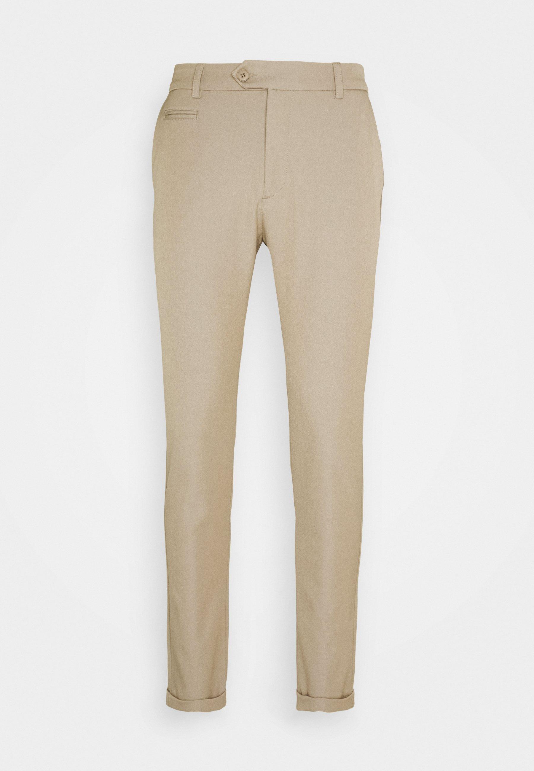 Les Deux Como Suit Pants Seasonal - Stoffhose Deep Forrest
