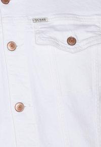 Guess - TYSON JACKET - Denim jacket - true white - 2