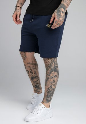 DUAL LOGO - Shorts - navy