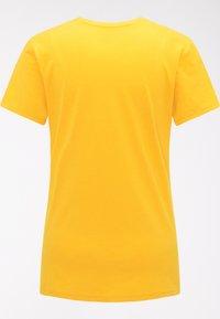 Haglöfs - Basic T-shirt - pumpkin yellow - 5