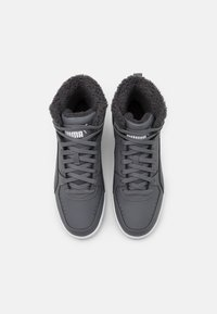 Puma - REBOUND JOY UNISEX - Sneakers high - castlerock/white - 3