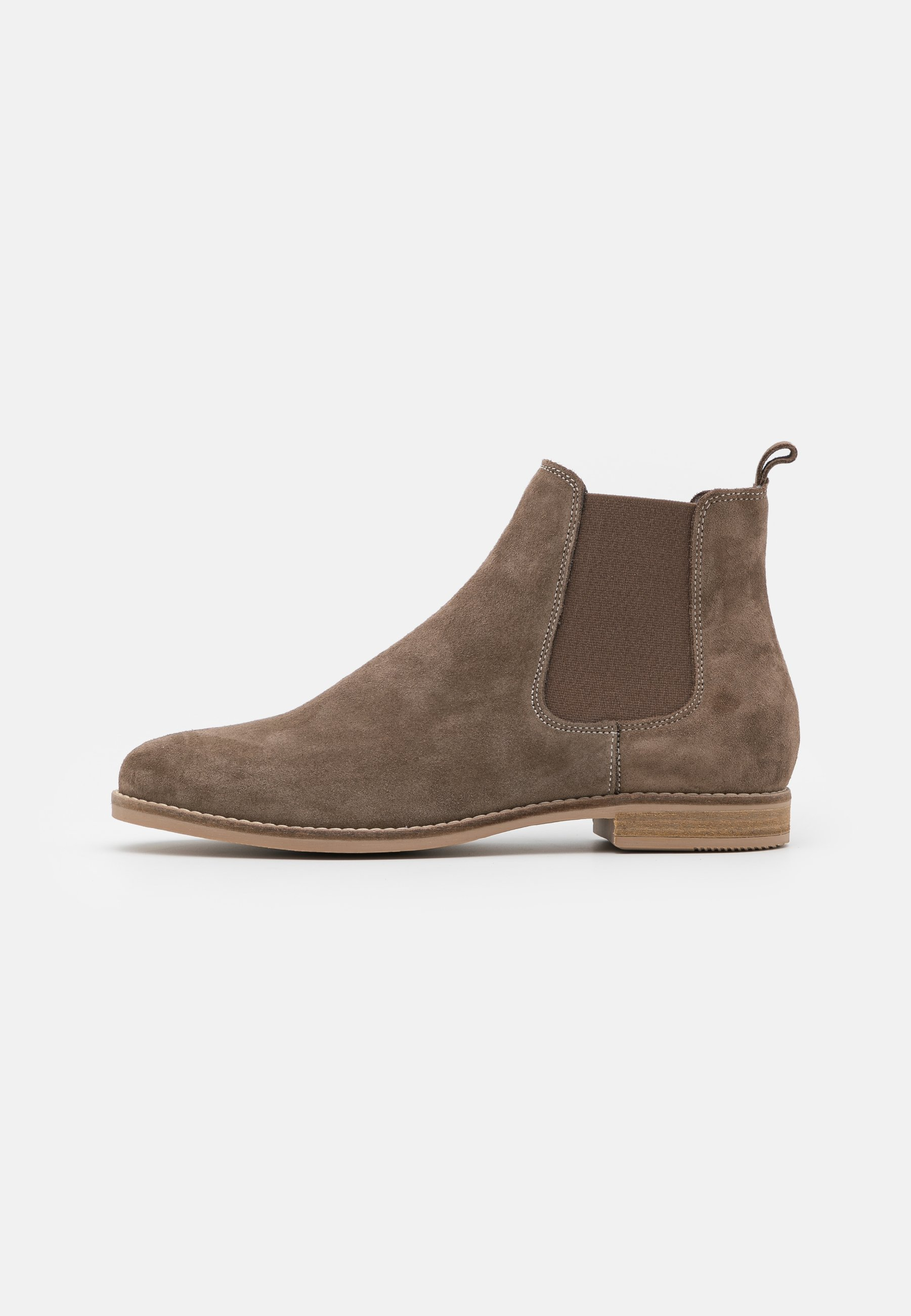 Women LEATHER - Ankle boots - taupe