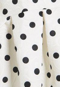Missguided - SPOT PUFF SLEEVE DRESS - Robe d'été - cream - 2