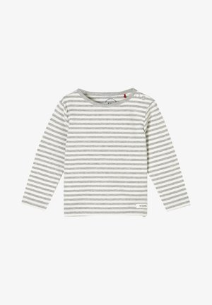 MIT STREIFEN - Long sleeved top - grey stripes