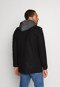 INDICODE JEANS - ADAIR - Short coat - black - 2