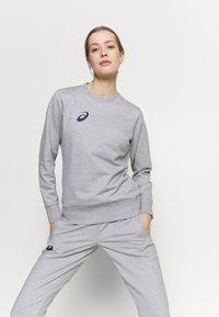 ASICS - WOMAN SUIT SET - Survêtement - heather grey - 5