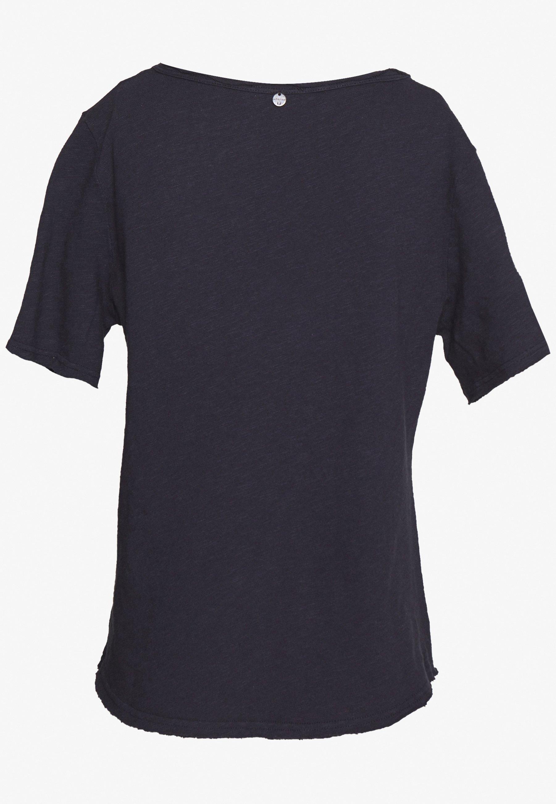 Rich & Royal Heavy - T-shirts Deep Blue/mørkeblå