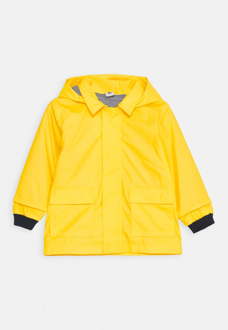 Petit Bateau - BABY CIRE JACKET - Waterproof jacket - jaune