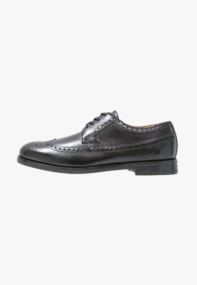 Clarks - COLING LIMIT - Smart lace-ups - zwart