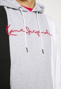 Karl Kani - ORIGINALS BLOCK HOODIE - Sweatshirt - ash grey - 3
