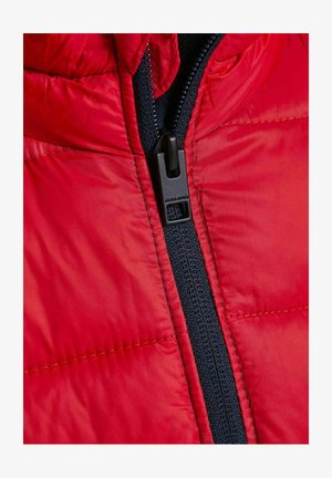 Winter jacket - tango red