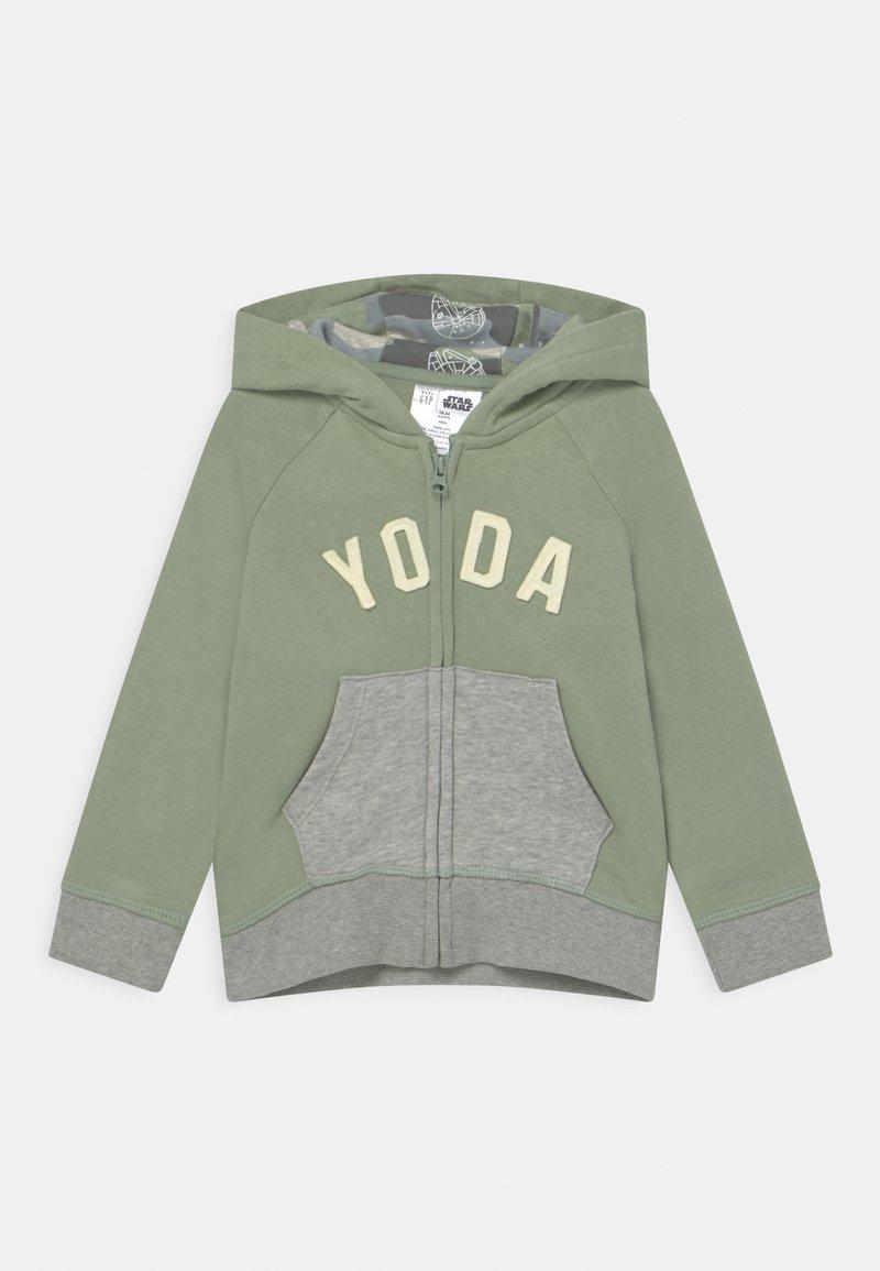 GAP - YODA HOODIE STAR WARS - Zip-up hoodie - green