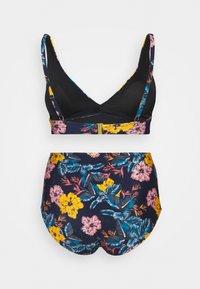 O'Neill - MARGA TALAIA FIX SET - Bikini - blue/yellow - 1