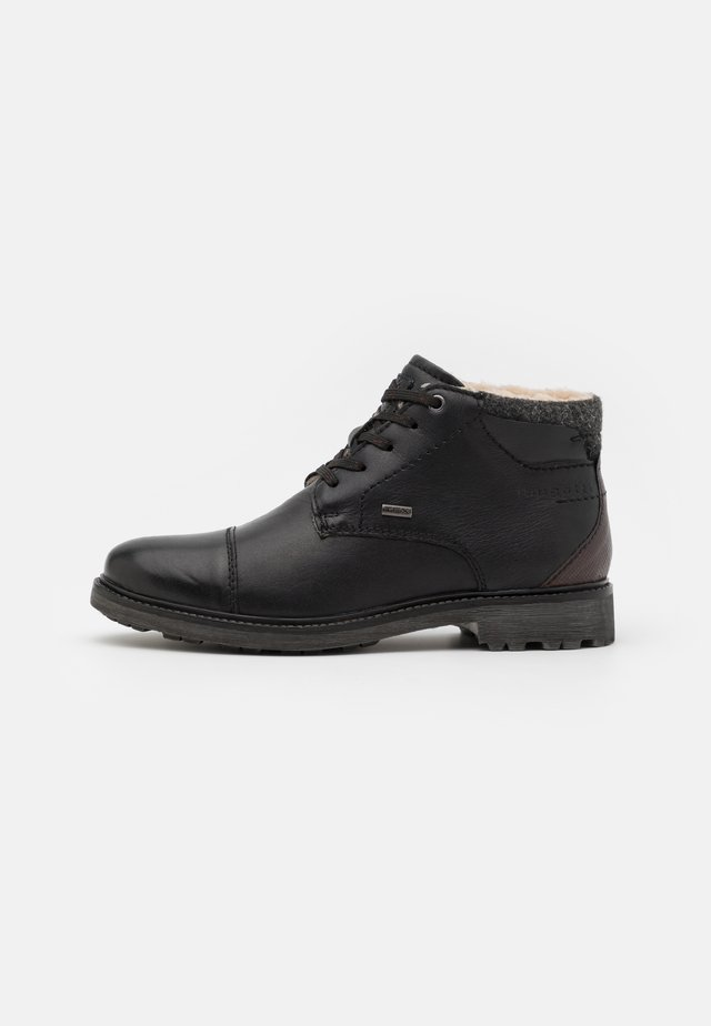 ALVARO EVO TEX - Lace-up ankle boots - black