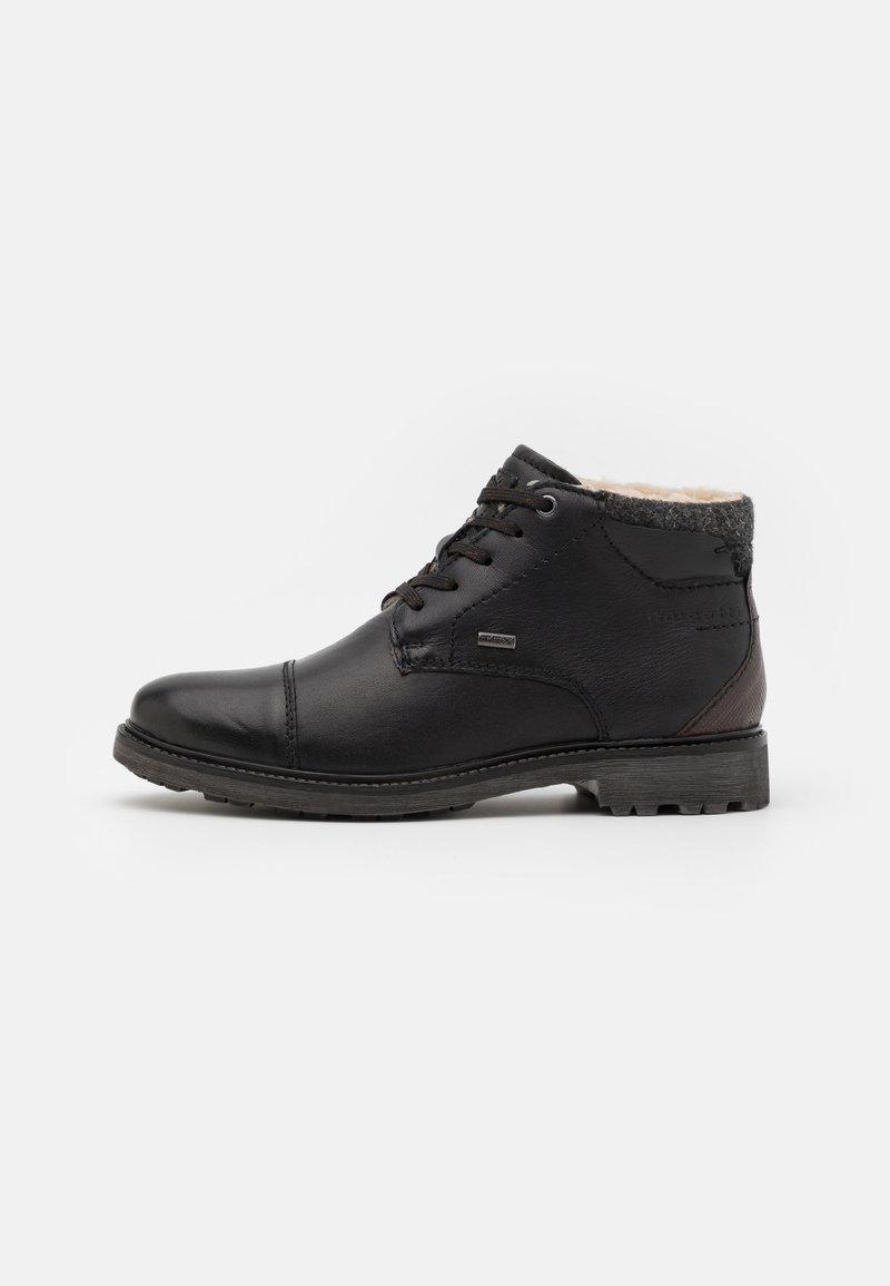 Bugatti - ALVARO EVO TEX - Lace-up ankle boots - black