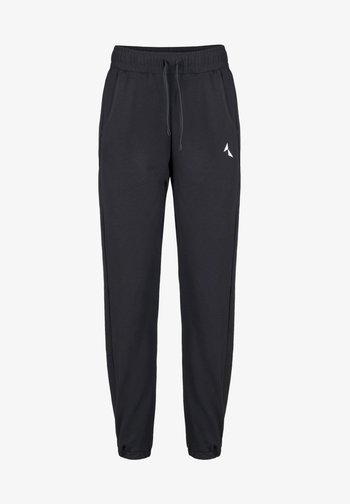 RELAXED SWEATPANTS - Tracksuit bottoms - black