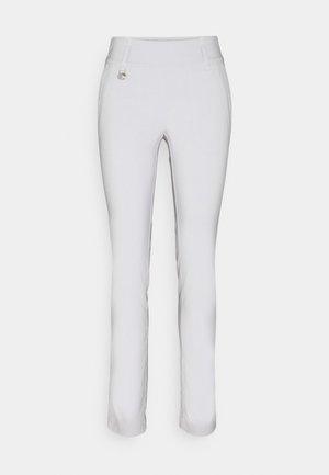 MAGIC PANTS - Trousers - pearl