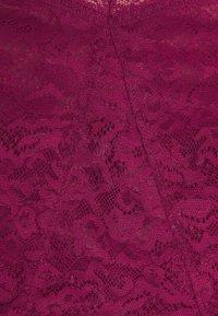Calvin Klein Underwear - UNLINED TRIANGLE - Bustier - deep sea rose - 3