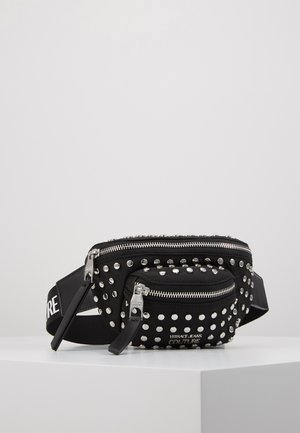 STUDDED BUM BAG - Rumpetaske - black