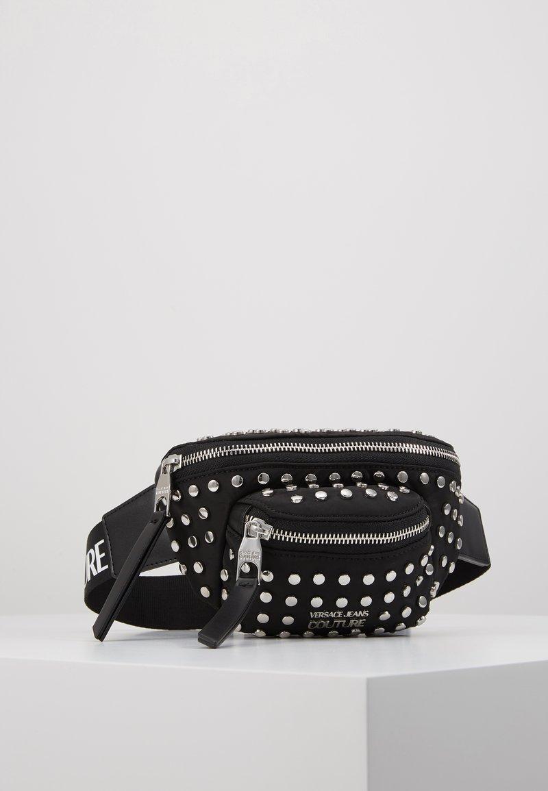 Versace Jeans Couture - STUDDED BUM BAG - Bum bag - black