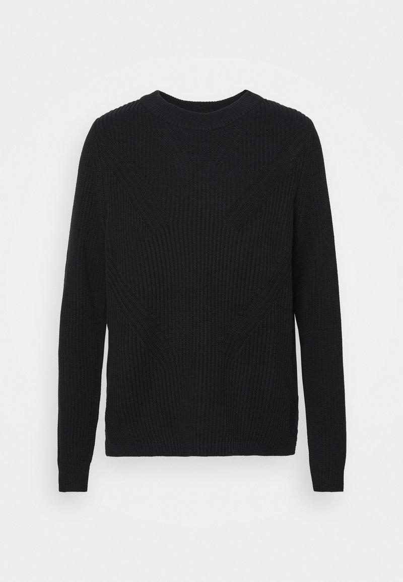 Esprit - Stickad tröja - black