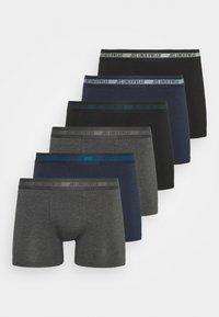 6 PACK  - Pants - black/grey/navy