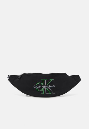 WAISTBAG GLOW UNISEX - Bum bag - black