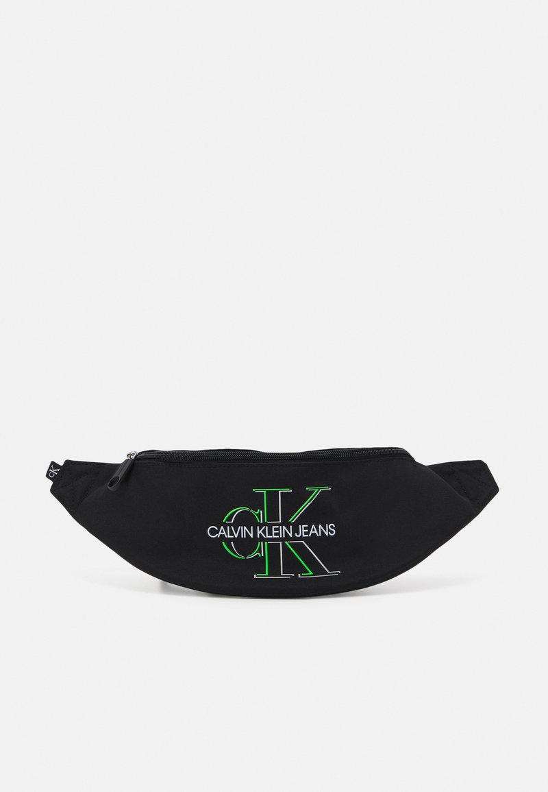 Calvin Klein Jeans - WAISTBAG GLOW UNISEX - Bæltetasker - black