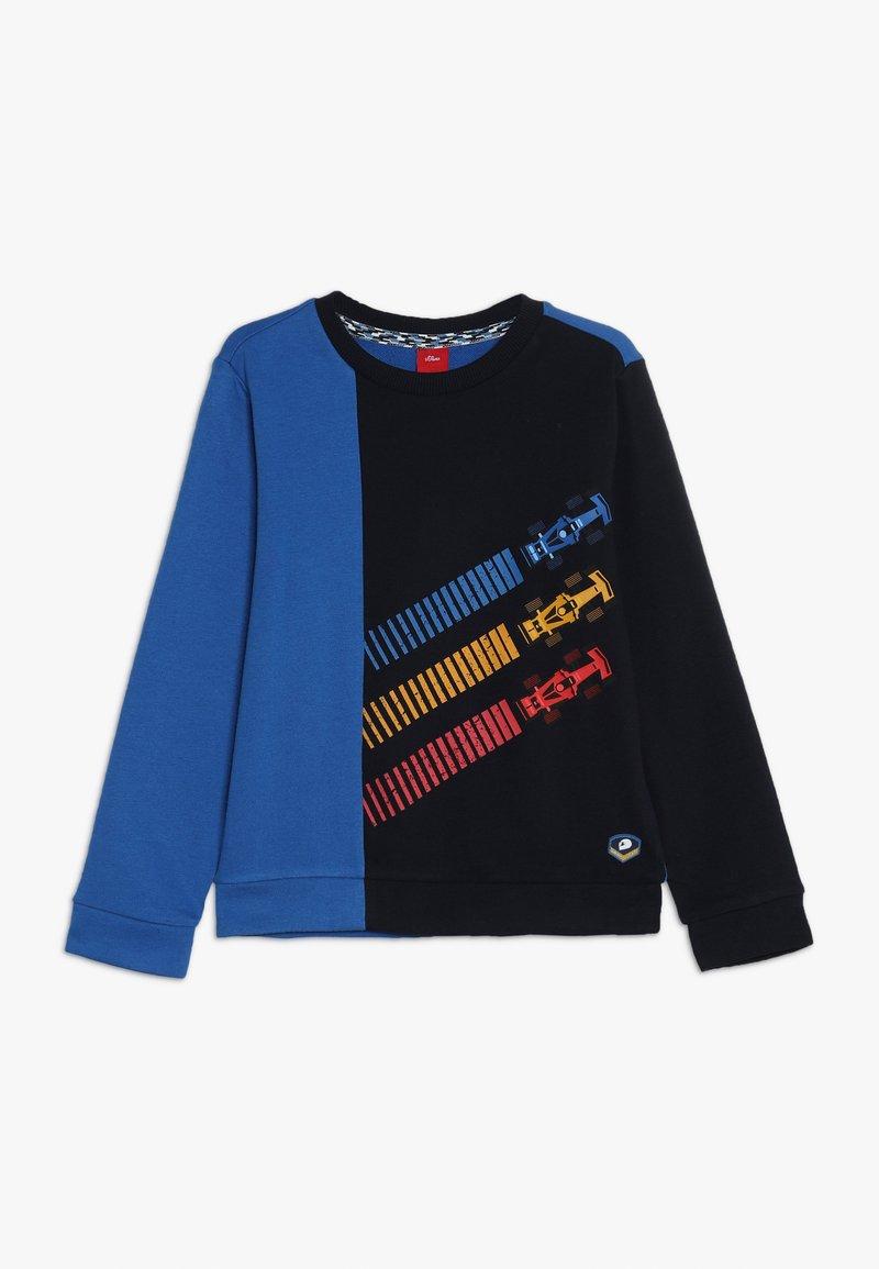 s.Oliver - LANGARM - Sweater - royal blue