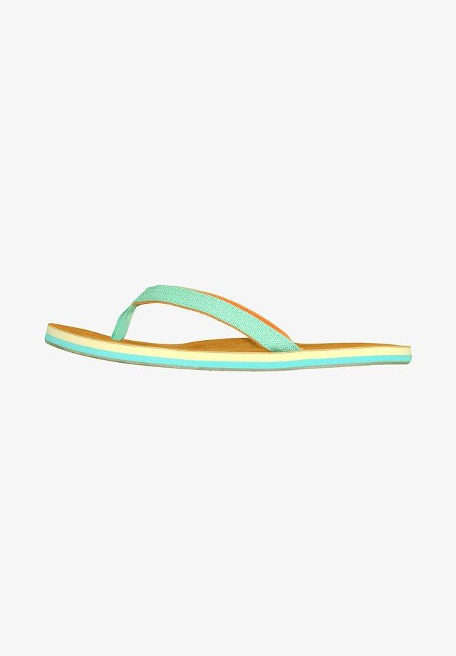 TROPICAL  - T-bar sandals - tropical/türkis