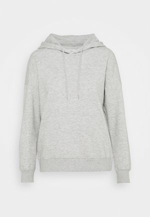 ONLFEEL LIFE HOOD  - Bluza - light grey melange