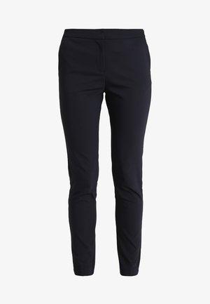 PANTS ELASTIC WAISTBAND - Trousers - dark blue