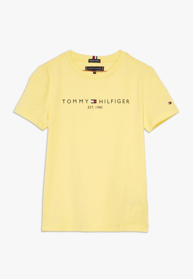 Tommy Hilfiger - ESSENTIAL LOGO UNISEX - T-shirt imprimé - yellow