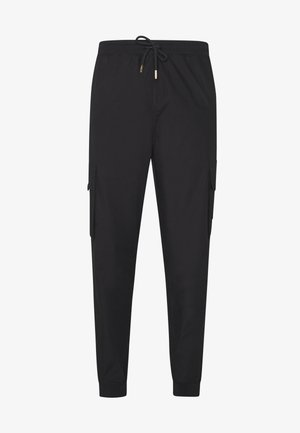 ALPHA UTILITY TROUSERS - Cargobukser - black