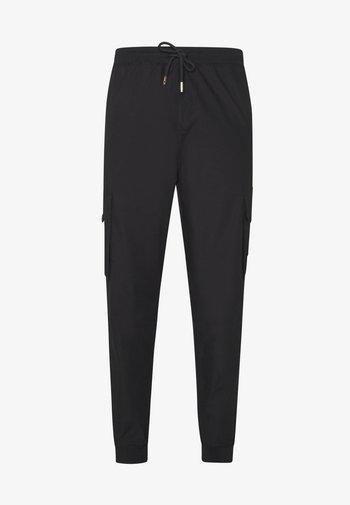 ALPHA UTILITY TROUSERS - Pantaloni cargo - black
