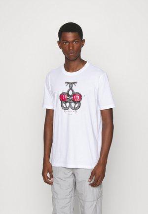 DNAKE - Print T-shirt - white