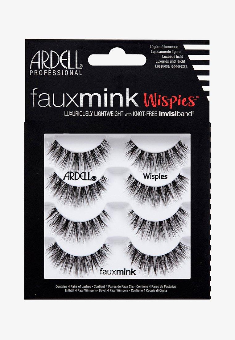 Ardell - FAUX MINK WISPIES MULTIPACK - False eyelashes - -