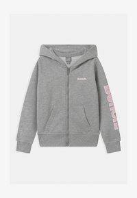 Bench - DELPHINE ZIP THROUGH - Mikina na zip - grey - 0