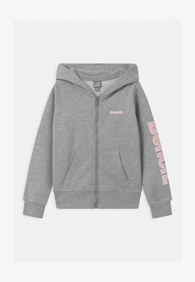 DELPHINE ZIP THROUGH - Sweatjacke - grey