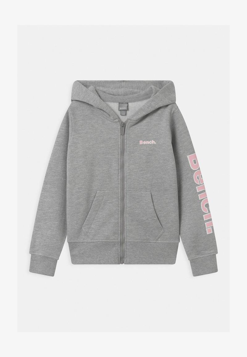 Bench - DELPHINE ZIP THROUGH - Mikina na zip - grey