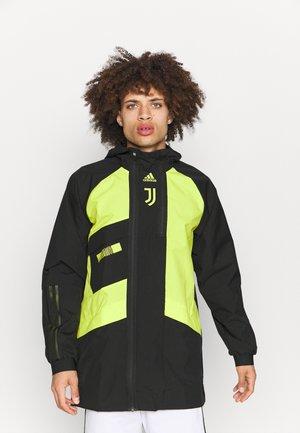 JUVENTUS TURIN - Club wear - black/acid yellow