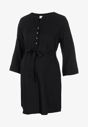 MLMERCY WOVEN TUNIC - Tunique - black
