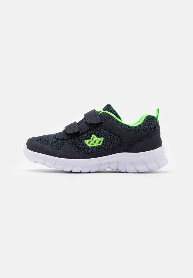 MURCIA - Sneakers laag - marine/lemon