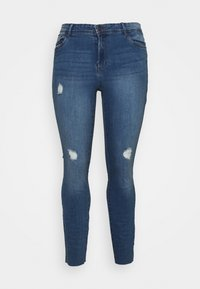 Vero Moda Curve - VMTANYA CUT - Jeans Skinny Fit - medium blue denim - 4