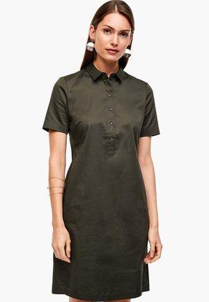 Skjortekjole - dark khaki