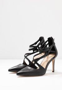 Anna Field - LEATHER HIGH HEELS - Zapatos altos - black - 4