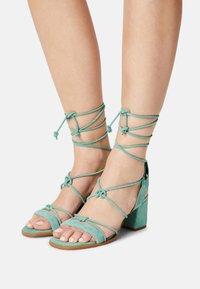 ALOHAS - SOPHIE - Sandals - mint green - 0