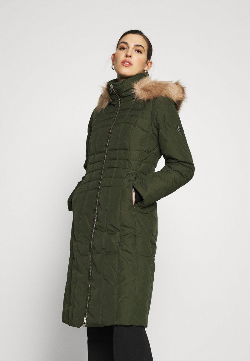Calvin Klein - ESSENTIAL COAT - Winter coat - dark olive