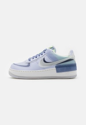 AIR FORCE 1 SHADOW - Trainers - ghost/summit white/world indigo/barely volt